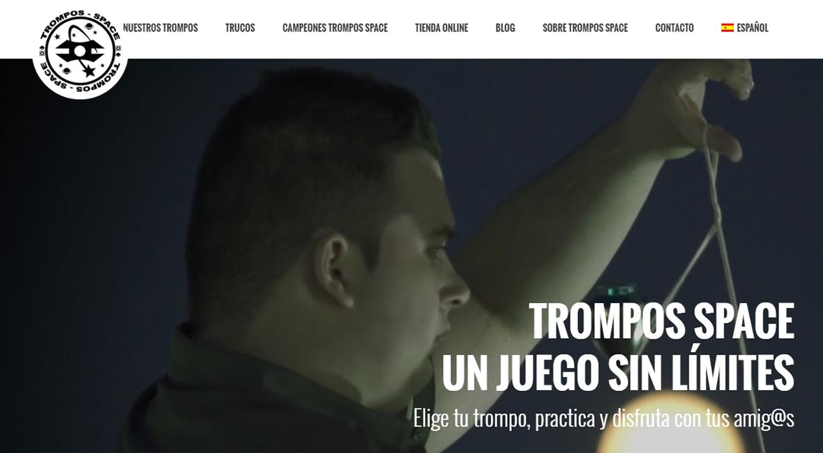 Trompos Space web nueva